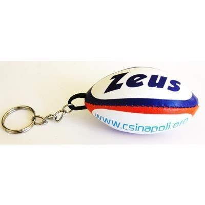 Picture of RUGBY BALL PVC KEYRING