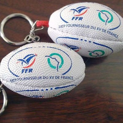 Picture of RUGBY BALL KEYRING RUBBER