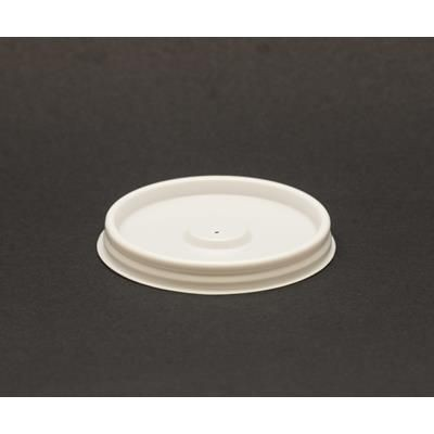 Picture of PLASTIC 4OZ FLAT VENTED LID
