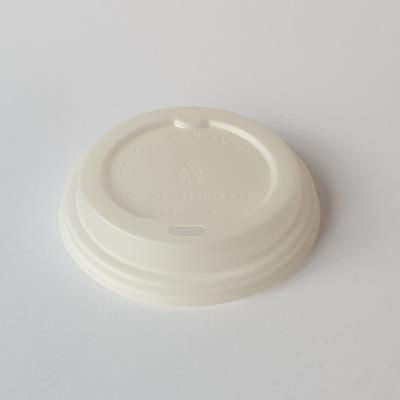 Picture of PLA ECO SIP THRU LID FOR PAPER CUP