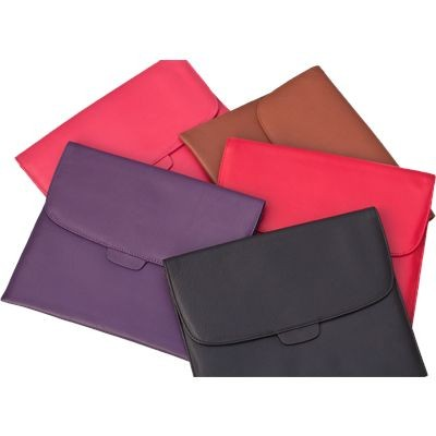 Picture of COLOUR LEATHER WALLET FOLDER