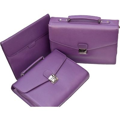 Picture of PURPLE LEATHER BAG COLLECTION