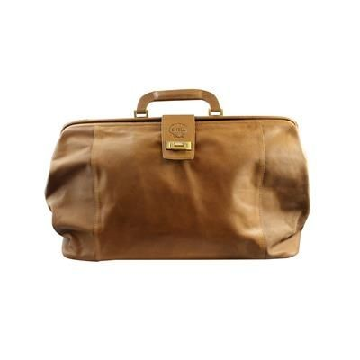 Picture of LEATHER GLADSTONE HOLDALL