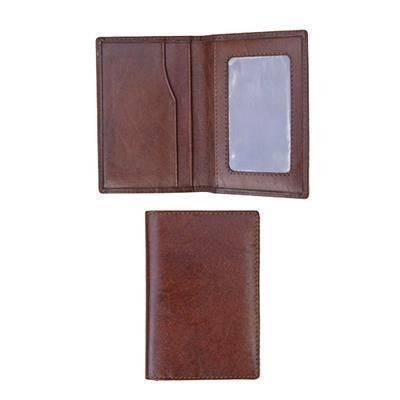Picture of LEATHER CREDIT CARD TRAVEL WALLET