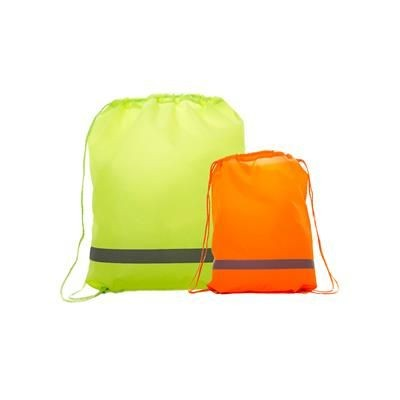 Picture of PREMIUM REFLECTIVE BACKPACK RUCKSACK 210D with Reflective Strip
