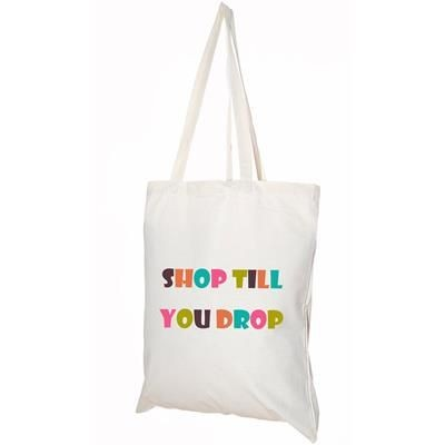 5OZ NATURAL COTTON SHOPPER