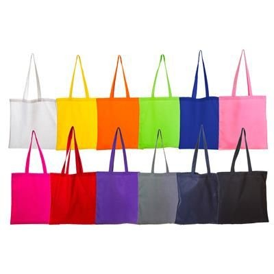 Picture of COLOUR 4OZ COTTON SHOPPER with Long Handles