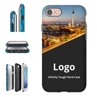 Picture of INFINITY 3D TOUGH PLASTIC SUBLIMATION HARD PHONE CASE