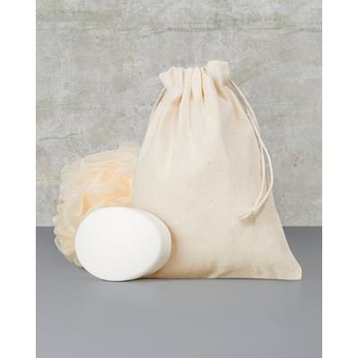 Picture of TOWELS BY JASSZ LARCH MEDIUM DRAWSTRING BAG