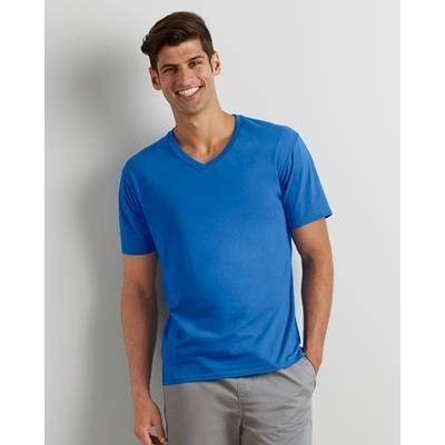 Picture of GILDAN ADULT PREMIUM COTTON V-NECK TEE SHIRT