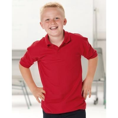 Picture of JERZEES SCHOOLGEAR CHILDRENS PIQUE POLO SHIRT