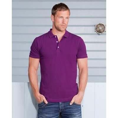 Picture of RUSSELL MENS STRETCH POLO SHIRT