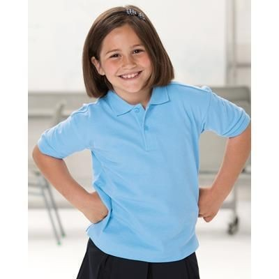 Picture of JERZEES SCHOOLGEAR CHILDRENS HARDWEARING POLO SHIRT