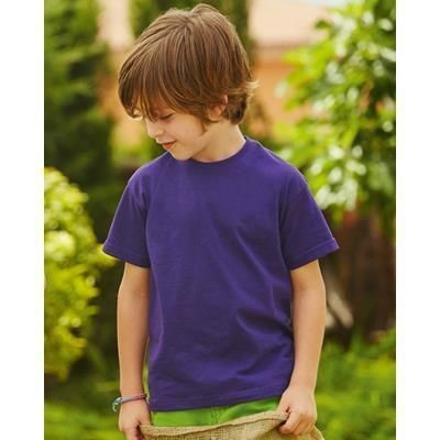 Picture of FRUIT OF THE LOOM CHILDRENS VALUEWEIGHT TEE SHIRT