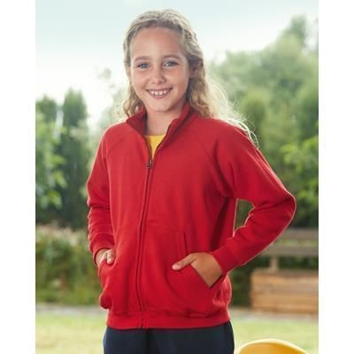Picture of FRUIT OF THE LOOM CHILDRENS SWEATSHIRT JACKET
