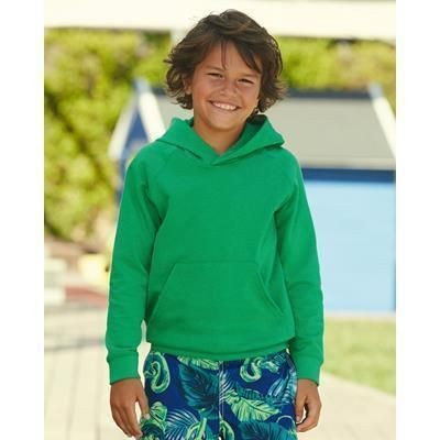 Picture of FRUIT OF THE LOOM CHILDRENS LIGHTWEIGHT HOODED HOODY SWEATSHIRT