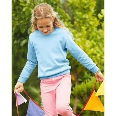 Picture of FRUIT OF THE LOOM CHILDRENS SET-IN SLEEVE SWEATSHIRT