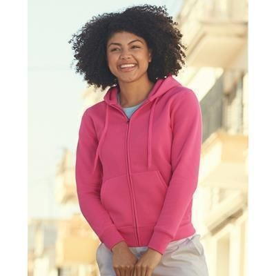 Picture of FRUIT OF THE LOOM LADIES FIT HOODED HOODY SWEAT JACKET