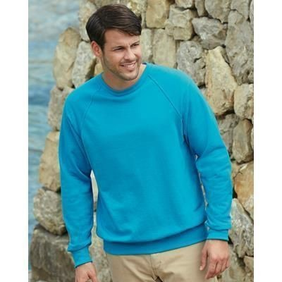 Picture of FRUIT OF THE LOOM LIGHTWEIGHT RAGLAN SWEATSHIRT