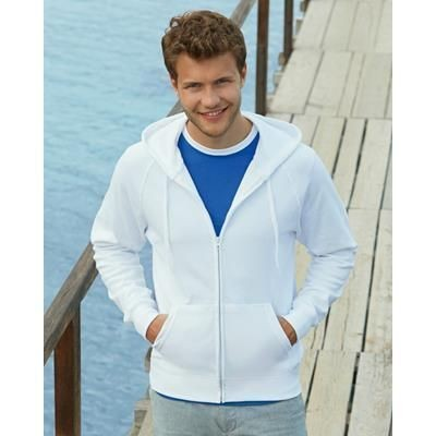 Picture of FRUIT OF THE LOOM LIGHTWEIGHT HOODED HOODY SWEAT JACKET