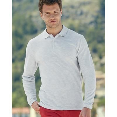Picture of FRUIT OF THE LOOM PREMIUM LONG SLEEVE POLO SHIRT