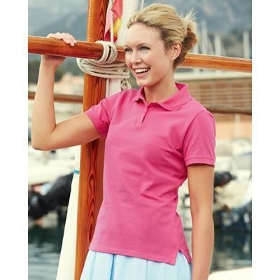 Picture of FRUIT OF THE LOOM LADIES FIT POLO SHIRT