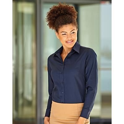 Picture of FRUIT OF THE LOOM LADIES FIT LONG SLEEVE OXFORD SHIRT