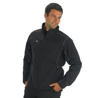 Picture of HELLY HANSEN MADRID SOFT SHELL JACKET in Black