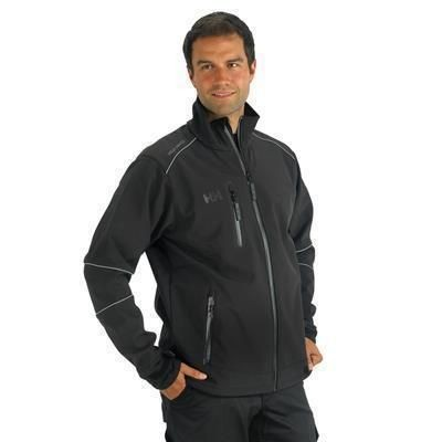 Picture of HELLY HANSEN BARCELONA SOFT SHELL JACKET in Black