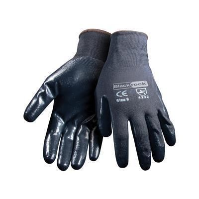 Picture of BLACKROCK NITRILE SUPER GRIP GLOVES in Black
