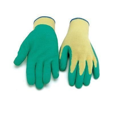 Picture of BLACKROCK LATEX COATED SAFETY GLOVES in Yellow & Green