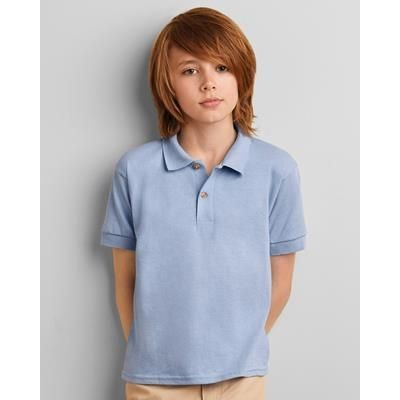 Picture of GILDAN DRYBLEND YOUTH JERSEY POLO SHIRT