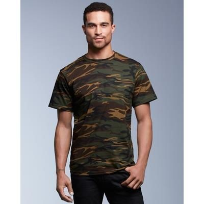 Picture of ANVIL ADULT MIDWEIGHT CAMOUFLAGE TEE SHIRT