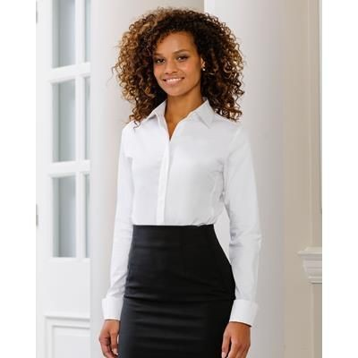 Picture of RUSSELL LADIES LONG SLEEVE UTIMATE STRETCH SHIRT