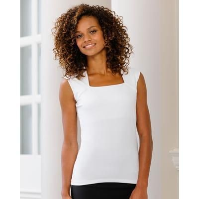 Picture of RUSSELL COLLECTION LADIES SLEEVELESS STRETCH TOP