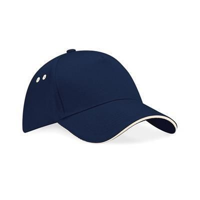 Picture of BEECHFIELD ULTIMATE 5 PANEL BASEBALL CAP with Sandwich Peak
