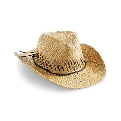 Picture of BEECHFIELD STRAW COWBOY HAT in Natural