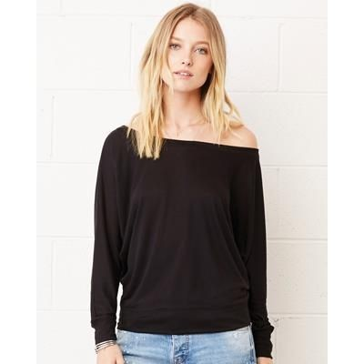 Picture of BELLA LADIES FLOWY LONG SLEEVE TEE SHIRT