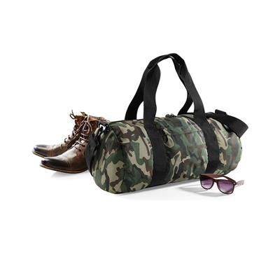 Picture of BAGBASE CAMO BARREL BAG SPORTS HOLDALL