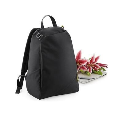 Picture of BAGBASE AFFINITY RE-PET BACKPACK RUCKSACK in Black
