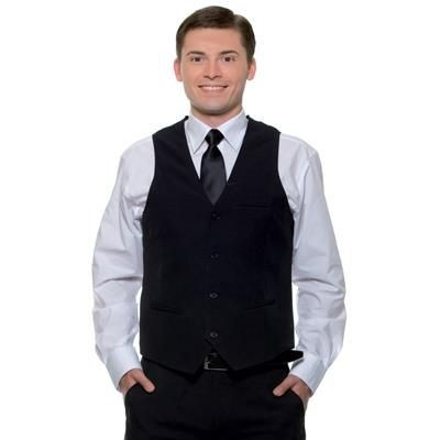 Picture of KARLOWSKY MENS WAISTCOAT in Black