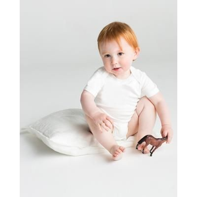 Picture of BABYBUGZ ORGANIC BABY SHORT SLEEVE BODYSUIT