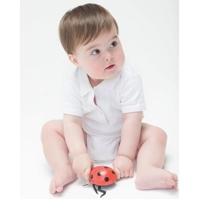 Picture of BABYBUGZ BABY ORGANIC POLO BODYSUIT BABYGROW