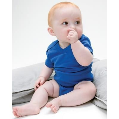 Picture of BABYBUGZ ORGANIC V NECK BABYGROW BODYSUIT