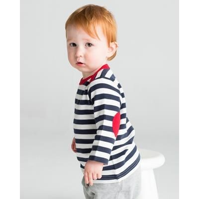 Picture of BABYBUGZ BABY STRIPY LONG SLEEVE TEE SHIRT