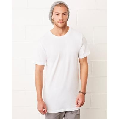 Picture of CANVAS MENS LONG BODY URBAN TEE SHIRT