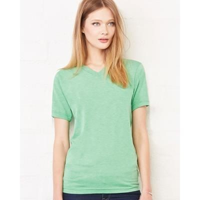 Picture of CANVAS TRIBLEND V NECK TEE SHIRT