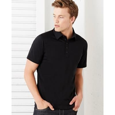 Picture of CANVAS 5 BUTTON POLO SHIRT