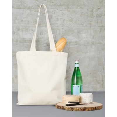 Picture of TOWELS BY JASSZ CLASSIC LONG HANDLE CANVAS SHOPPER TOTE BAG
