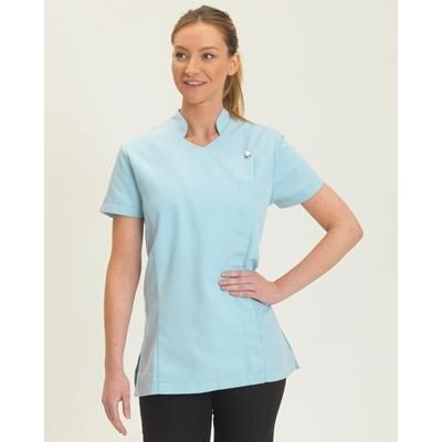 Picture of DENNYS POLYCOTTON ZIP BEAUTY TUNIC